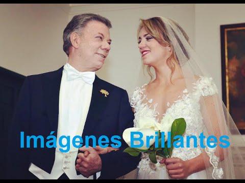 María Antonia Santos la hija del presidente se casó en Bogotá