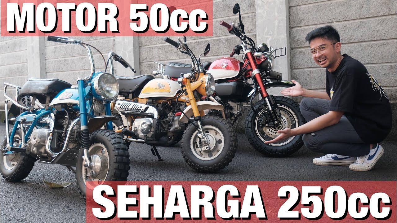 Nyobain Honda Monkey 50 cc