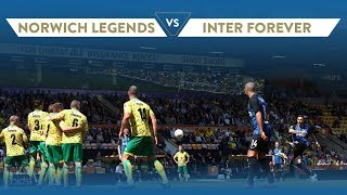 NORWICH CITY LEGENDS-INTER FOREVER 1-2 @Carrow Road | Highlights