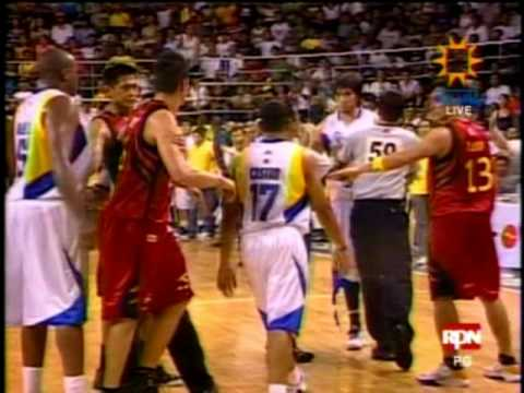 2010 PBA: Marc Pingris (B-Meg)  vs. Jared Dillinger (TNT), 6-19-10