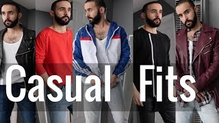Casual outfit ideas for everday, Selling more clothes lookbook men
