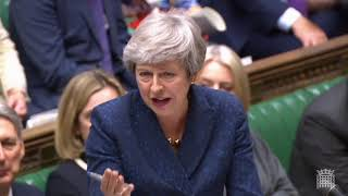 Prime Minister's Questions: 1 May 2019 - Climate change, crime, inequality