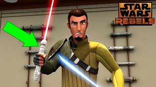 The Most MYSTERIOUS Lightsaber in Star Wars Rebels - Star Wars Explained