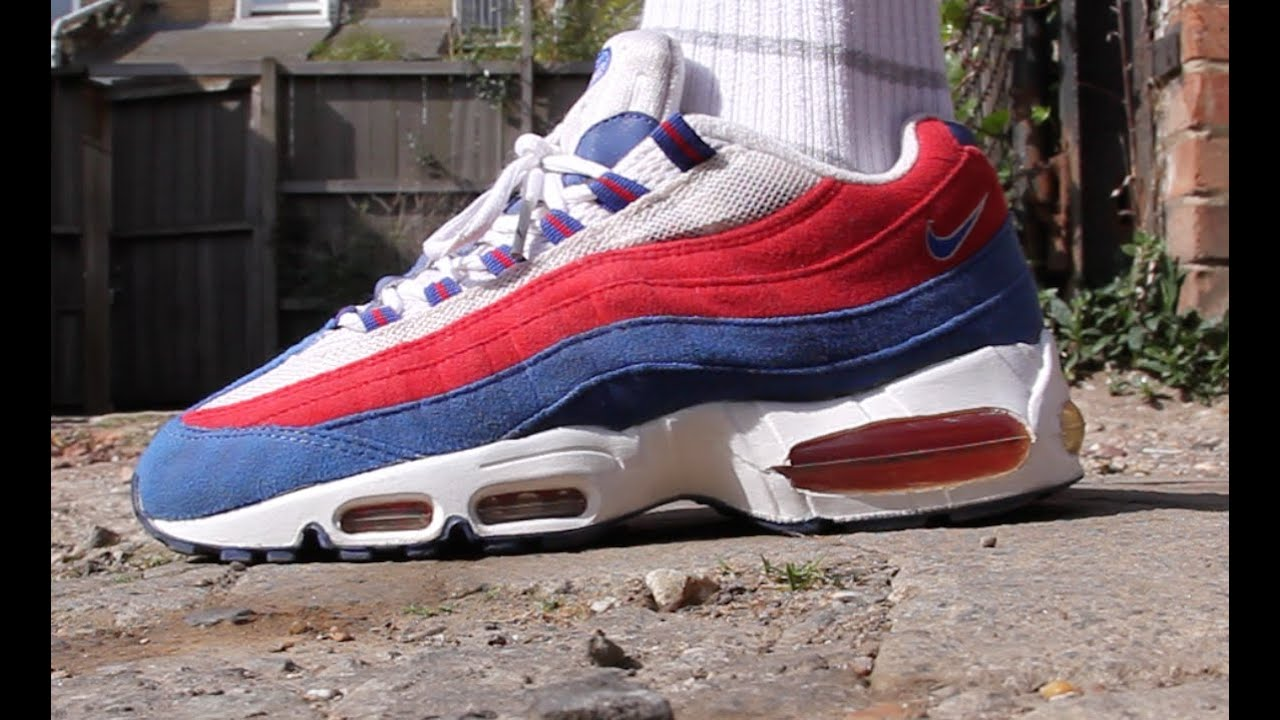 new style 68795 5e749 ... release date air max 95 independence day 2004 restoration repaint e20c2  5ef38