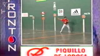 Pelota Mano Final del Cuatro y Medio 1997 Retegi II  Titin III