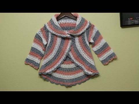 31919a41a Suéter para Niña de 6 a 7 años Crochet - YouTube