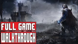 SHADOW OF MORDOR Full Game Walkthrough - Longplay No Commentary