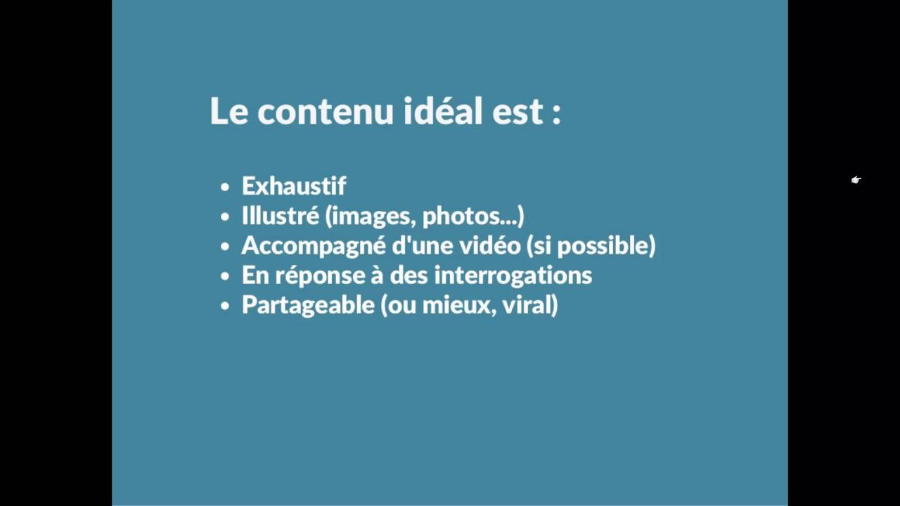 Content Marketing - Comment produire un contenu à succès ?