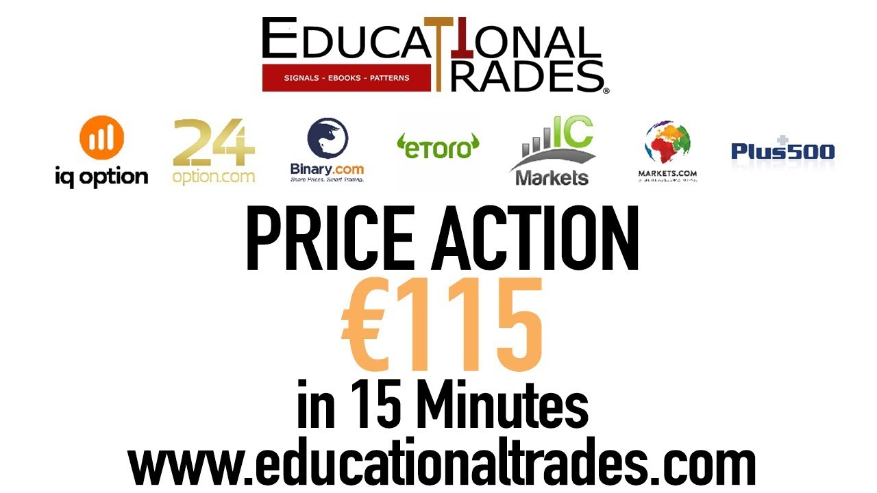 Best Trading Strategy Live - € 115 in 15 minutes using price action