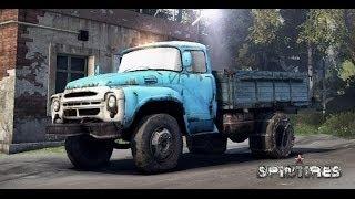 Spin Tires 2014 - Симулятор русских дорог и КАМАЗа - Настоящее РУССКОЕ ПОРНО [HD 1080p]