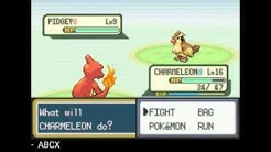 Pokemon Fire Red (squirrels) - GameBoy Emulator