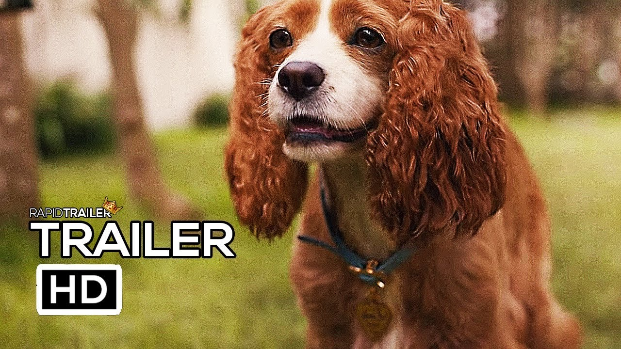Lady And The Tramp Official Trailer 2 2019 Disney Live Action Movie Hd Youtube