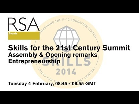 RSA Replay Skills Summer - Session 1 - Welcome and Entrepreneurship