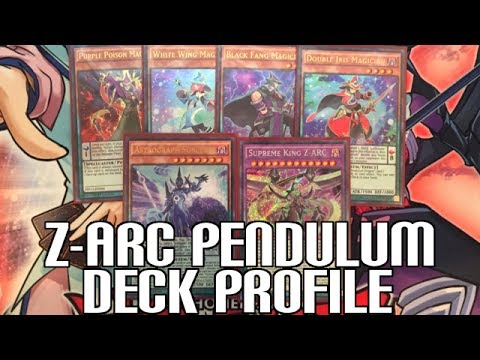 Yugioh Supreme King Z-ARC Pendulum Magician Profile - Pendulums before Link Summoning