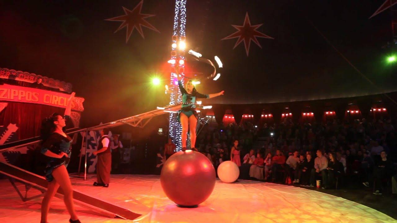 winter wonderland zippos christmas circus 2013 youtube