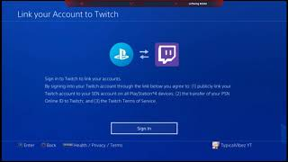 How to connect your twitch to playstation !! (Fix)