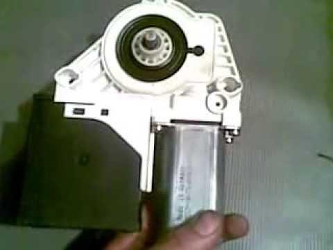 Motor Elevador De Vidrios Youtube