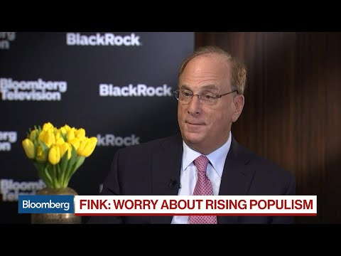 BlackRock's Fink: Modern Monetary Theory Is 'Garbage'