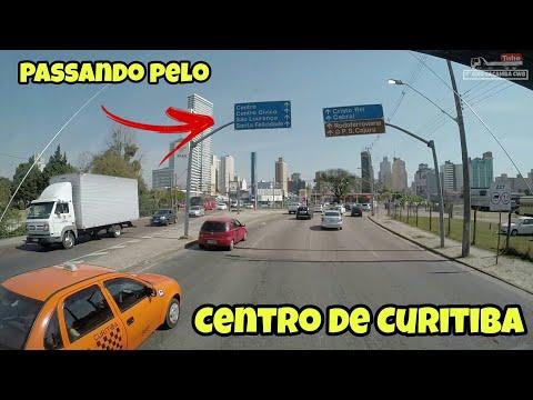PASSANDO PELO CENTRO DE CURITIBA