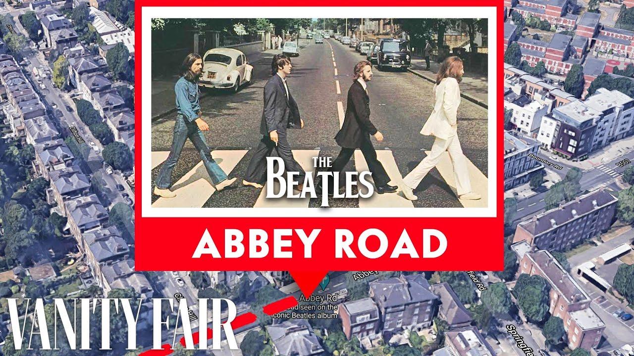 Every Place in Beatles Lyrics, Mapped   Vanity Fair