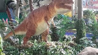 후룸라이드 공룡 애니매트로닉스(2)