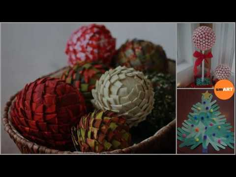 Christmas Arts And Crafts Ideas Xmas Crafts To Make Youtube
