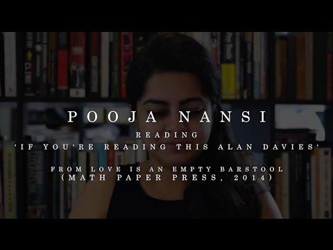 Pooja Nansi - If You're Reading This Alan Davies