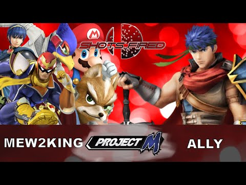 Shots Fired - Mew2King Vs Ally - GRAND FINALS - Project M