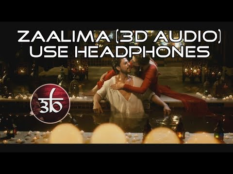 Zaalima | 3D Audio | Arijit Singh | Virtual 3D Audio | HQ | Raees