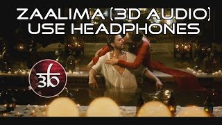 [4.62 MB] Zaalima | 3D Audio | Arijit Singh | Virtual 3D Audio | HQ | Raees