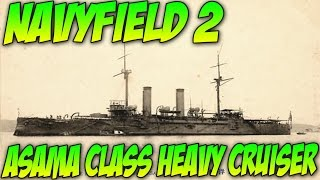 Navyfield 2 Gameplay! ASAMA Class HEAVY CRUISER! Road to Carrier!!!
