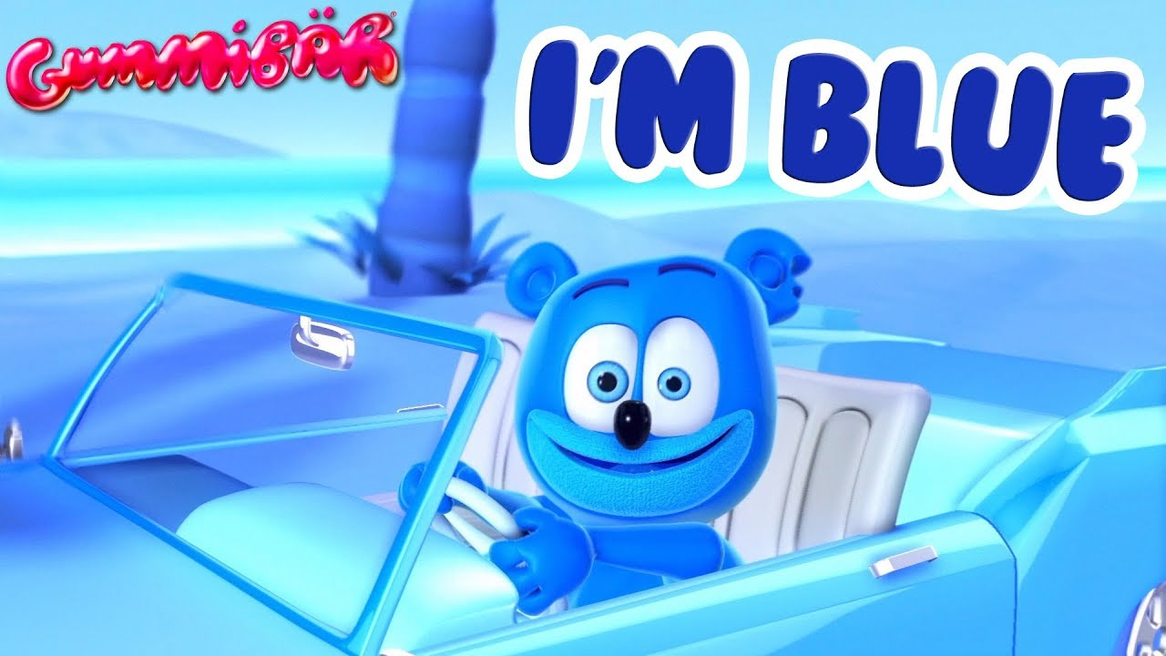 Download I'M BLUE (Gummy Bear Version) Gummibar Gummy Bear Song