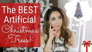 Best Flocked Artificial Christmas Trees 2018 | Reviews & Comparisons