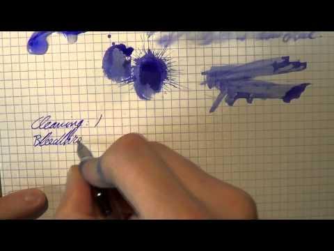 Inkcyclopedia Caran d'Ache Blue Sky