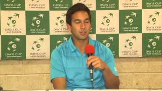 Treat HUEY Davis Cup April 2013 Interview