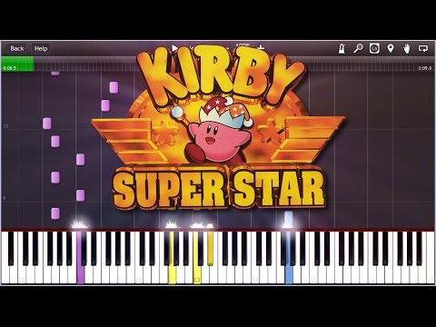 Kirby super star gourmet race synthesia - Super gourmet plus ...