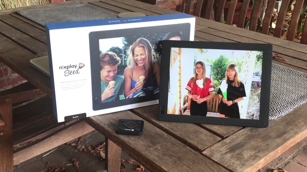 Nixplay Seed Digital Picture Frame Gift Idea For Loved Ones Youtube