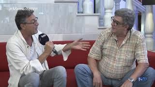 """Paco Bravo en """"Memento"""". Televisión Melilla"""