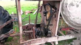 Vintage concrete mixer