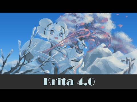 Lançamento do Krita 4.0