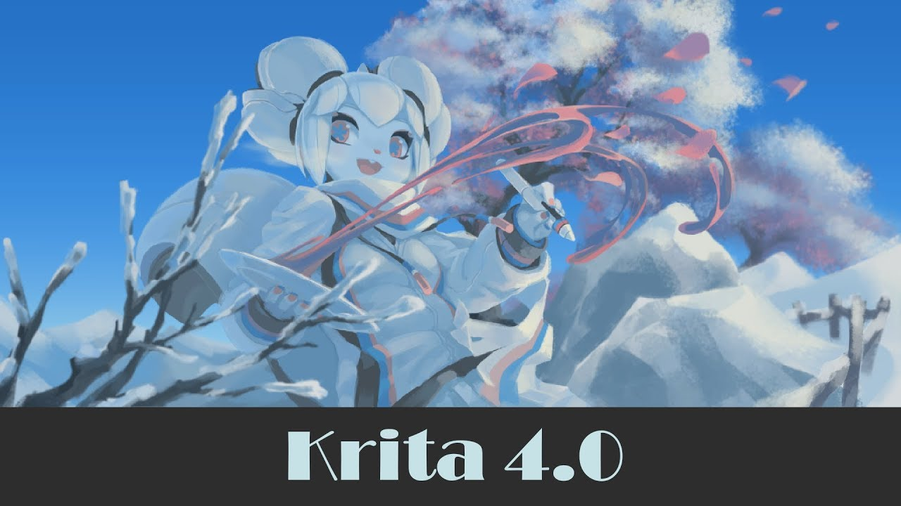 Krita Version 4 0 Released With Improved Vector Tools - It's FOSS
