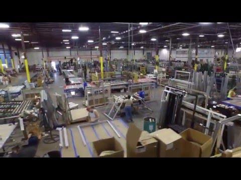 Q Manufacturing Company Drone Video Production Plant Tour