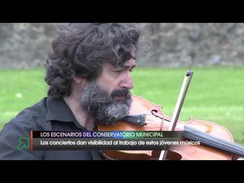 Los escenarios del Conservatorio Ataúlfo Argenta