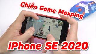 Trải Nghiệm Chiến Game Maxsetting Trên iPhone SE 2020 - Gaming Phone Không Có Tuổi Với Em Này!!