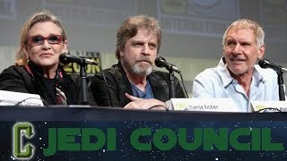 Collider Jedi Council: COMIC CON RECAP AND AFTERMATH STORY REVEALED
