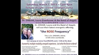 Irvine, California, Universal LOVE Galactivation, March 7th - Temple of Light
