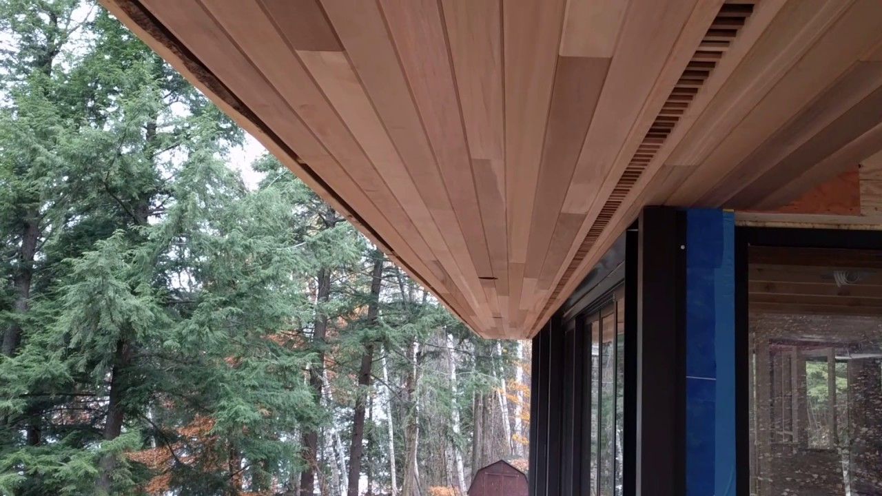 Soffit And Vent Strip Youtube