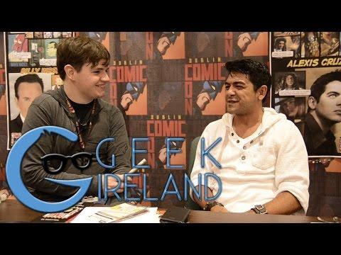 Geek Ireland Meets Alexis Cruz at DCC15