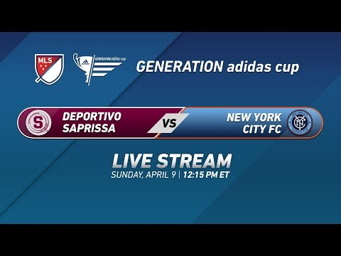 Deportivo Saprissa vs. New York City FC | 2017 Generation adidas Cup