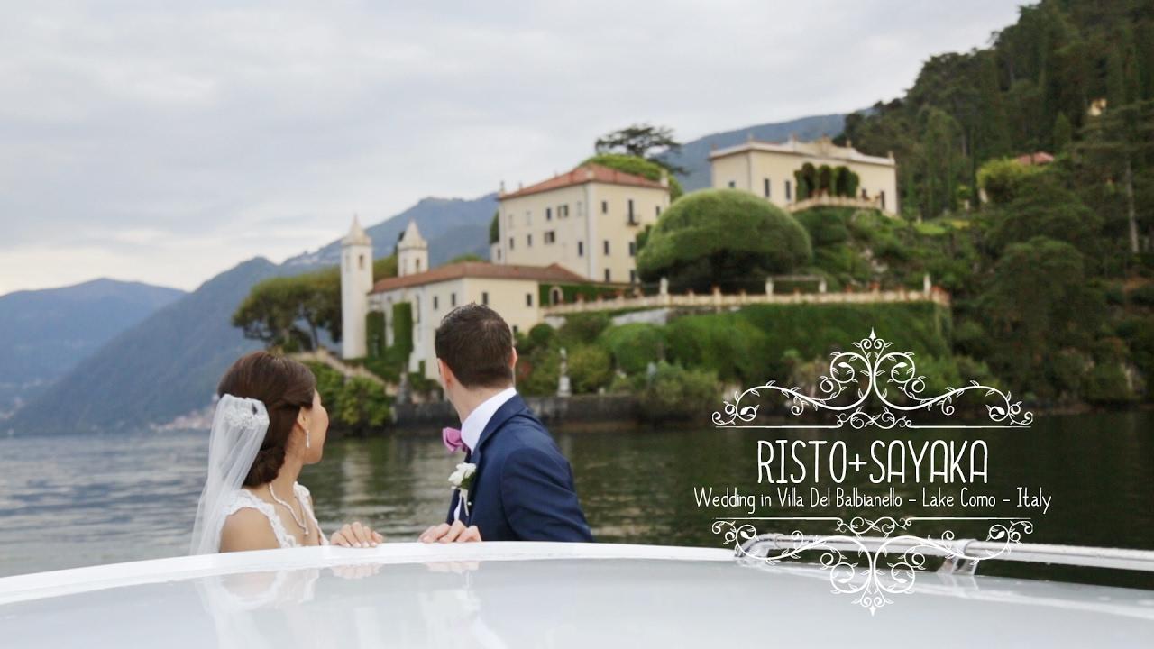 Intimate Wedding Video On Lake Como Italy Lovviaweddings Com